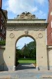 Brown University Rhode - ö Arkivfoto