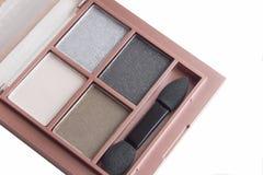 Brown ustalony eyeshadow Fotografia Royalty Free