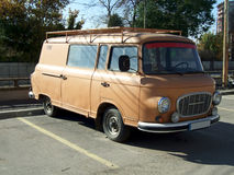 Brown van Stock Photography