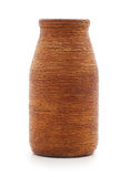 Brown vase. Stock Images