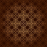 Brown vector vintage background with gradient Stock Photography