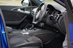 Brown Vehicle Interior Royalty Free Stock Photo