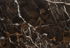 Brown Vein Marble Stone Royalty Free Stock Image