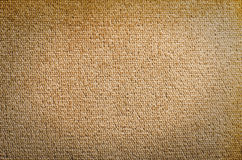 Brown velvet fabric texture from sofa. Stock Photo