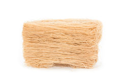 Brown vermicelli dried Stock Images
