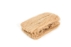 Brown vermicelli dried Stock Photos