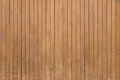 Brown vertical old wood wall texture background Stock Images