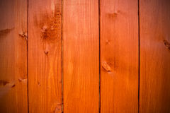 Brown vertical planks Stock Photos