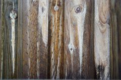 Vertical wood planks Royalty Free Stock Photos