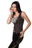 Brown vest Stock Photography