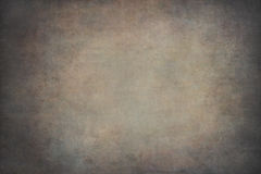 Brown vignetting hand-painted background Stock Photos