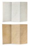 brown vikt gammal paper texturwhite Arkivbild