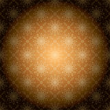 Brown vintage vector background with radial gradient Stock Photography