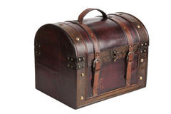 Brown vintage bag Stock Photography