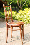 Brown vintage chair Royalty Free Stock Photos