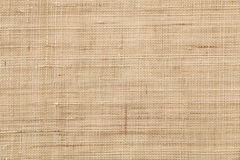 Brown vintage hemp cloth texture background Stock Images