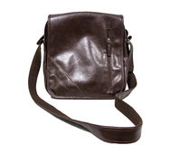 Brown Vintage leather briefcase Royalty Free Stock Images