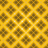 Brown Vintage Seamless Pattern Stock Photos
