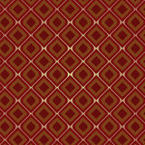 Brown Vintage Seamless Pattern. Vector illustration of a brown vintage seamless pattern wallpaper Vector Illustration