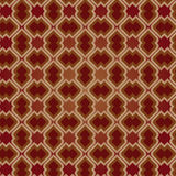 Brown Vintage Seamless Pattern stock photography