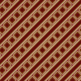 Brown Vintage Seamless Pattern Royalty Free Stock Photography