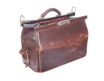 Brown vintage valise Royalty Free Stock Photo