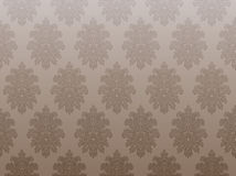 Brown vintage wallpaper Royalty Free Stock Photography