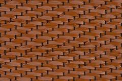 Brown vinyl texture Stock Photography
