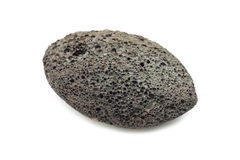 Brown volcanic pumice to a spa Royalty Free Stock Images