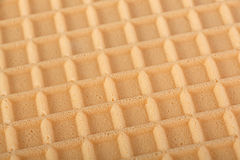 Brown wafer background Stock Photography