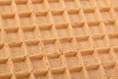 Brown wafer background Royalty Free Stock Images