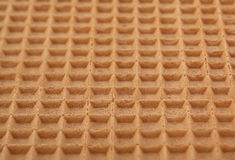Brown wafer background Royalty Free Stock Photography