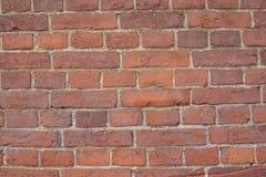 Brown wall made of bricks. Stock Image