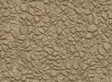 Brown wall from natural stones Stock Image