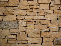 Brown Wall Stone Royalty Free Stock Photos