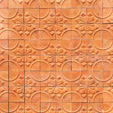 Brown wall terracotta abstract background Stock Photo