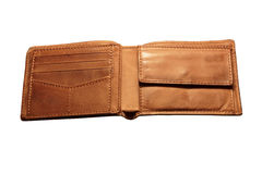 Brown wallet Stock Photos