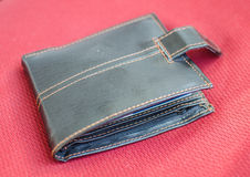 Brown wallet Royalty Free Stock Images