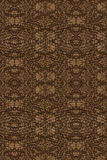 Brown wallpaper design Royalty Free Stock Photos