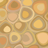 Brown wallpaper in retro style Stock Photography