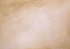 Brown watercolor background Stock Photography