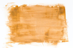 Brown watercolor painting texture Royalty Free Stock Images
