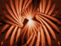Brown wave royalty free stock photos
