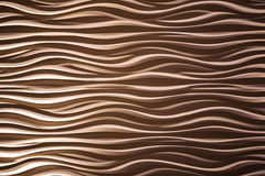 Brown wave design background Royalty Free Stock Photos