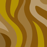 Brown wavy stripes Stock Photos