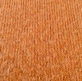 Brown wełny tkaniny tekstura obraz royalty free