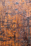 Brown weathered timber Stock Images