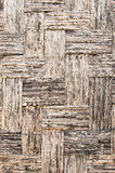 Brown weave bamboo Stock Photos