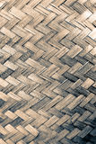 Brown weave, bamboo chips Royalty Free Stock Images
