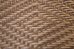 Brown weave plastic pattern Stock Photography
